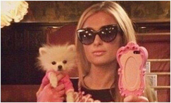 Paris Hilton   Instagram.com nuotr
