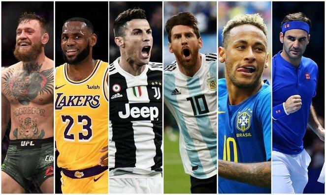 Populiariausi pasaulio sportininkai | Scanpix nuotr.