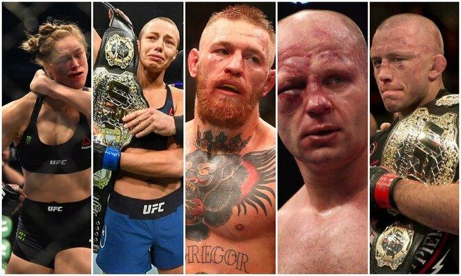 Top 20: didžiausios sensacijos MMA istorijoje | Scanpix nuotr.
