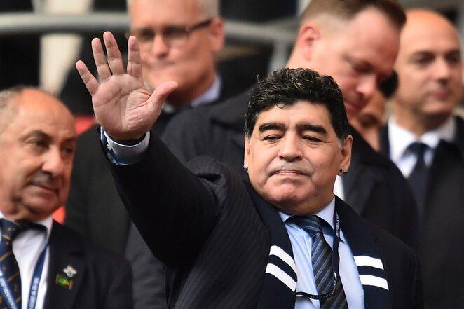Diego Maradona   Scanpix nuotr.