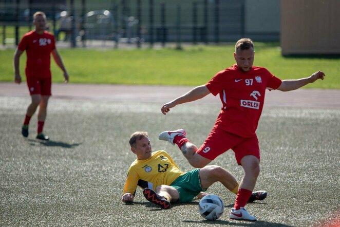 Tarptautinis žurnalistų futbolo turnyras   Organizatorių nuotr.