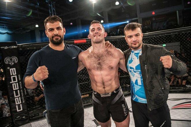 Laurynas Urbonavičius – Rafaelis Xavieras | Nova Fighting Championship nuotr.