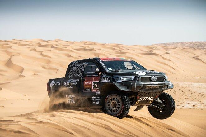 """Dakaro ralio ketvirtasis etapas (""""MM Photo"""" nuotr.)   Organizatorių nuotr."""