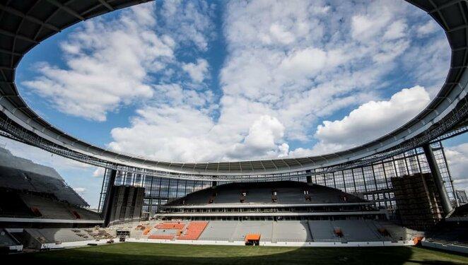 Jekaterinburgo arena   Organizatorių nuotr.