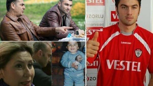 Burakas Yilmazas su tėčiu, vaikystėje ir paauglystėje   Organizatorių nuotr.