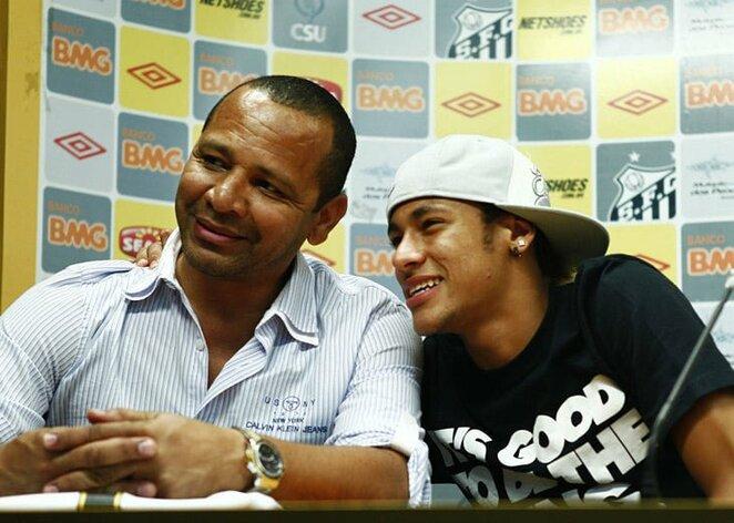 Neymarai: vyresnysis ir jaunesnysis | Instagram.com nuotr