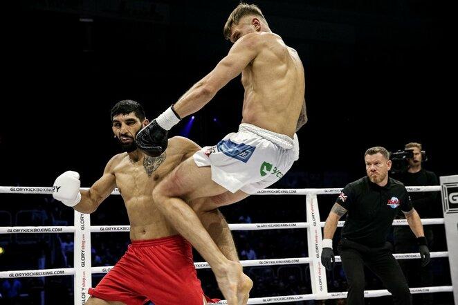 Sergejus Maslobojevas prieš Bahramą Rajabzadehą   Organizatorių nuotr.