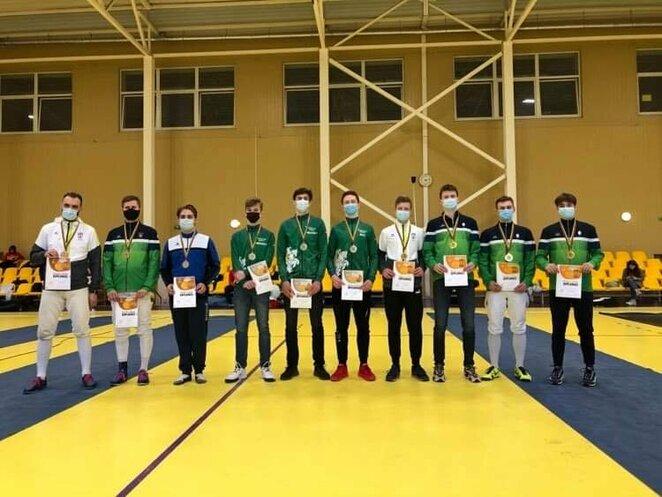 Lietuvos fechtavimo čempionatas | Organizatorių nuotr.