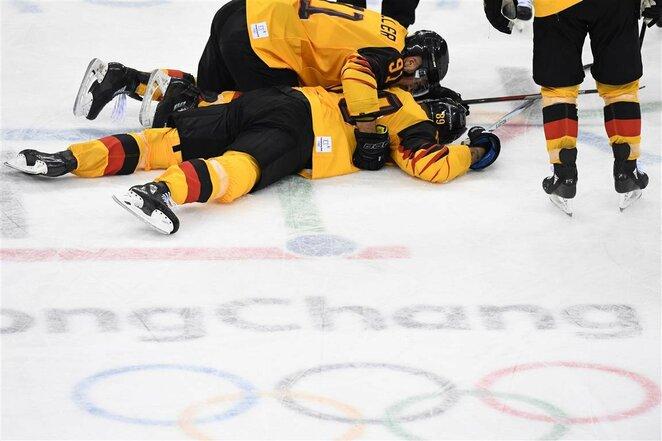 Kanados ir Vokietijos rinktinių rungtynės | Scanpix nuotr.
