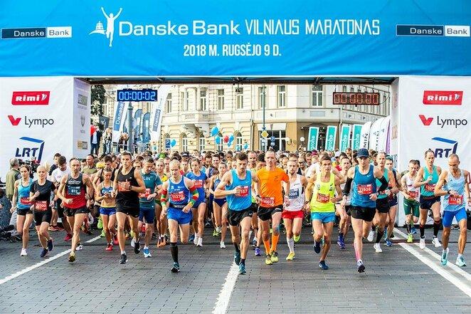 """""""Danske Bank Vilniaus maratonas""""   Augusto Didžgalvio nuotr."""