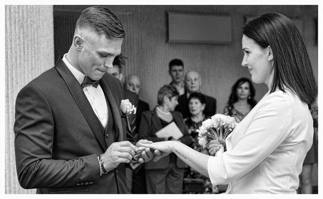 Sergejaus ir Airinės Maslobojevų vestuvės l Manto Stankevičiaus nuotr.