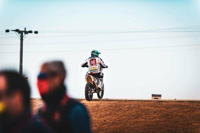 """Arūnas Gelažninkas   """"Zigmas Dakar Team"""" nuotr."""