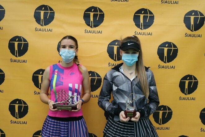 Antros kategorijos jaunių teniso turnyras Šiauliuose | Organizatorių nuotr.