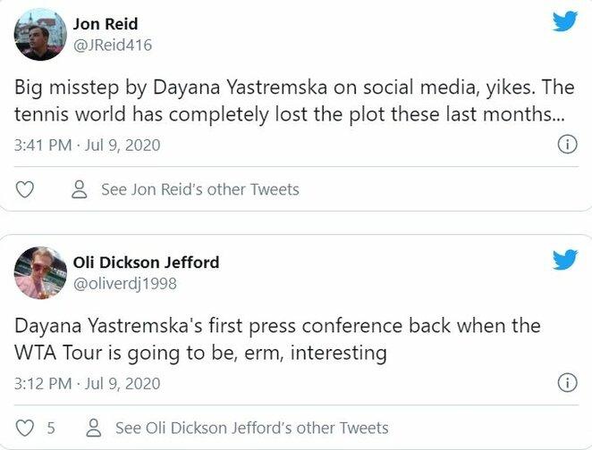 "Internautų komentarai | ""Twitter"" nuotr."