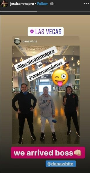 Jessicos Andrade žinutė   Instagram.com nuotr